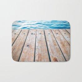 Dock of the Bay Bath Mat