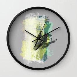 SELF-DETERMINED II Wall Clock