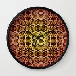 OP-Art Diamonds Wall Clock