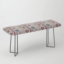 Caucasian Rugs(Stripe) - White Bench