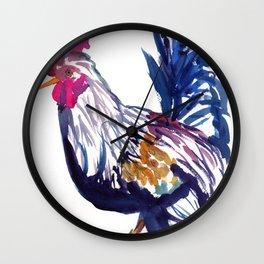 Kilohana Rooster 2 Wall Clock