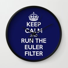 Keep Calm and Run the Euler Filter Wall Clock
