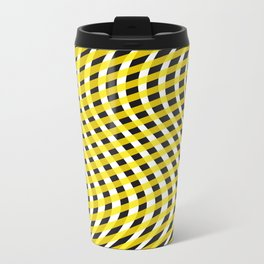 abstract waves Travel Mug