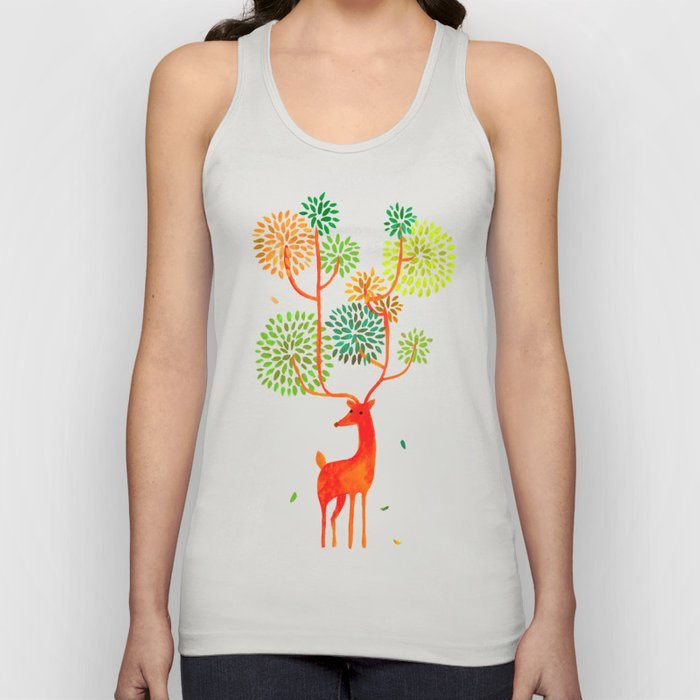 For the tree is the forest Unisex Tank Top