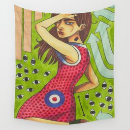 A Glimpse of Love Wall Tapestry