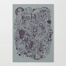 Polyphobic Vomit Canvas Print