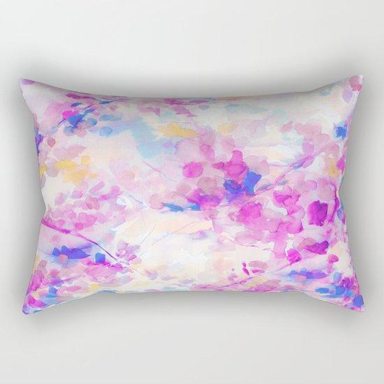 Canopy Magenta Rectangular Pillow