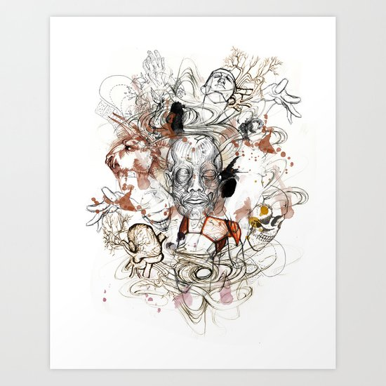 Theseus Art Print
