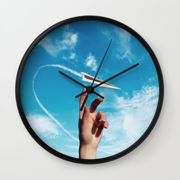 paper wishes Wall Clock