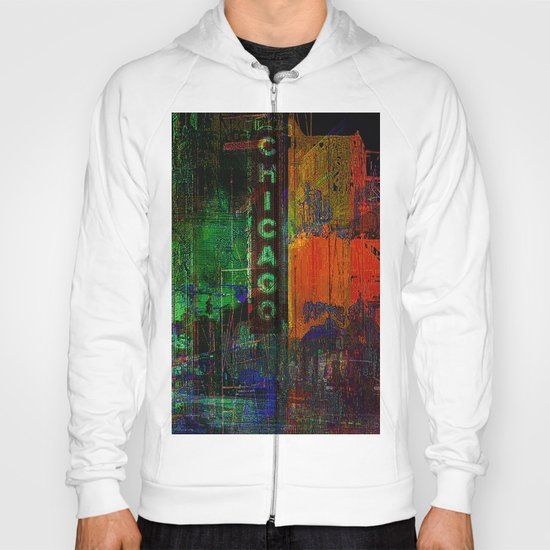 A night in Chicago Hoody