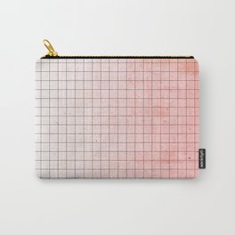 Sweet Pink Geometry Carry-All Pouch