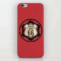 Execute Order 66 iPhone & iPod Skin