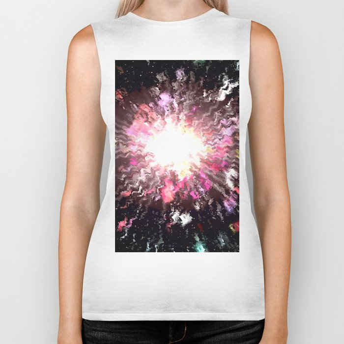 The universe is colored. Biker Tank