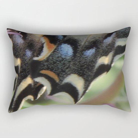 Detail of a Swallowtail Rectangular Pillow