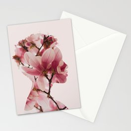 Maid of Flowers Stationery Cards