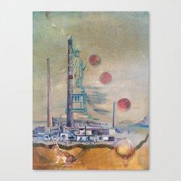 Magic Onion Balloon Canvas Print