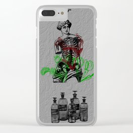 Apothecary Clear iPhone Case