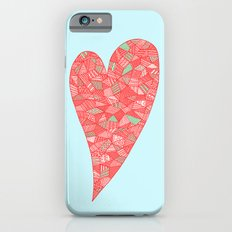 Puzzled Heart Slim Case iPhone 6s