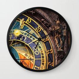 PRAGUE 03 Wall Clock