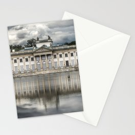 Pretty palace in Warsaw Stationery Cards