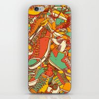 shoe iPhone & iPod Skins featuring If the Shoe Fits by Alvaro Arteaga
