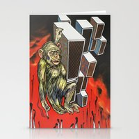 ape Stationery Cards featuring Ape by VikaValter