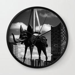 Elbephant Wall Clock