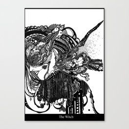 The Witch Canvas Print