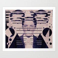 Vintage Man Art Print