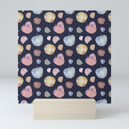 space apples Mini Art Print