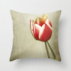 Delicate Inferno Throw Pillow