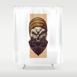 Bonehead Shower Curtain