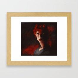 matchstick Framed Art Print