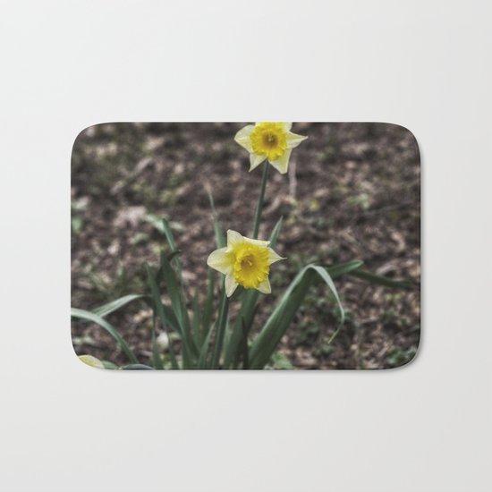 Spring Daffodil Bath Mat