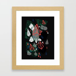 Prisms Framed Art Print