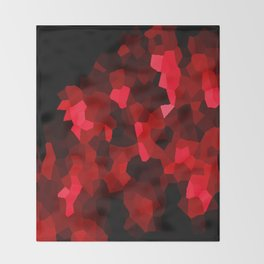 Lava Abstract Throw Blanket
