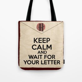 HP Keep calm and wait for your letter #1  Tote Bag
