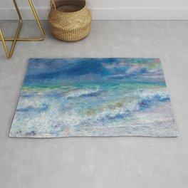 Seascape Ocean Blue Colors Rug