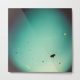 kites in the sky Metal Print