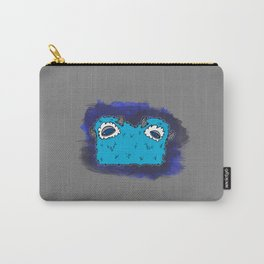 Blue Two-Headed Monster Carry-All Pouch
