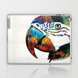 Parrot Head Art By Sharon Cummings Laptop & iPad Skin