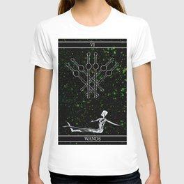 A Tarot of Ink 06 of Wands T-shirt