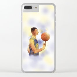 stephen cury Clear iPhone Case