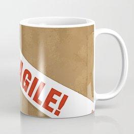 Fragile With Care Coffee Mug