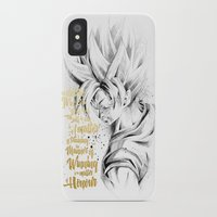 dragonball iPhone & iPod Cases featuring Dragonball Z - Honor by Straife01