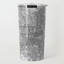 Houston Texas Map (1992) BW Travel Mug