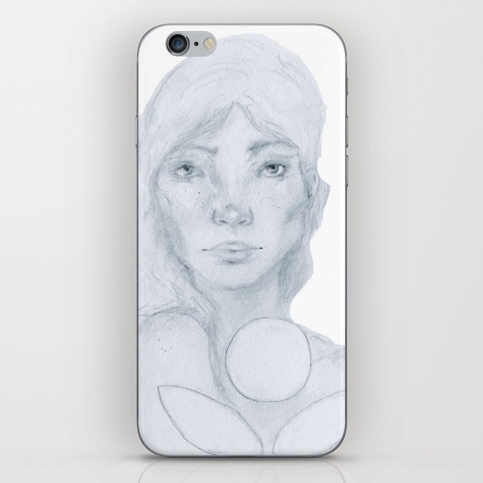 Lined Beauty iPhone Skin