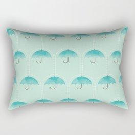 Umbrella Falls Rectangular Pillow