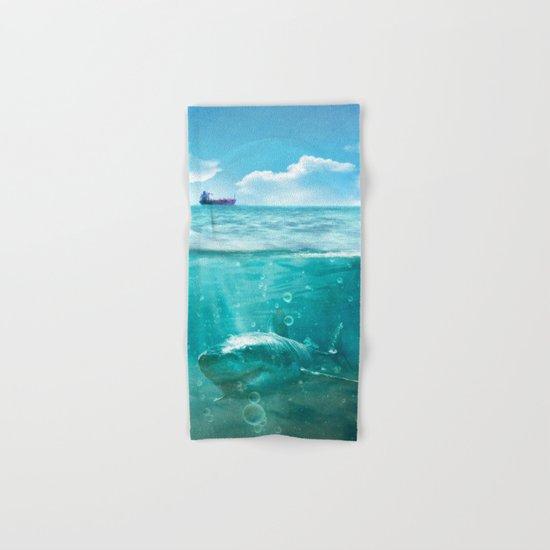 Blue Hand & Bath Towel