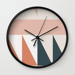 Cirque 04 Abstract Geometric Wall Clock